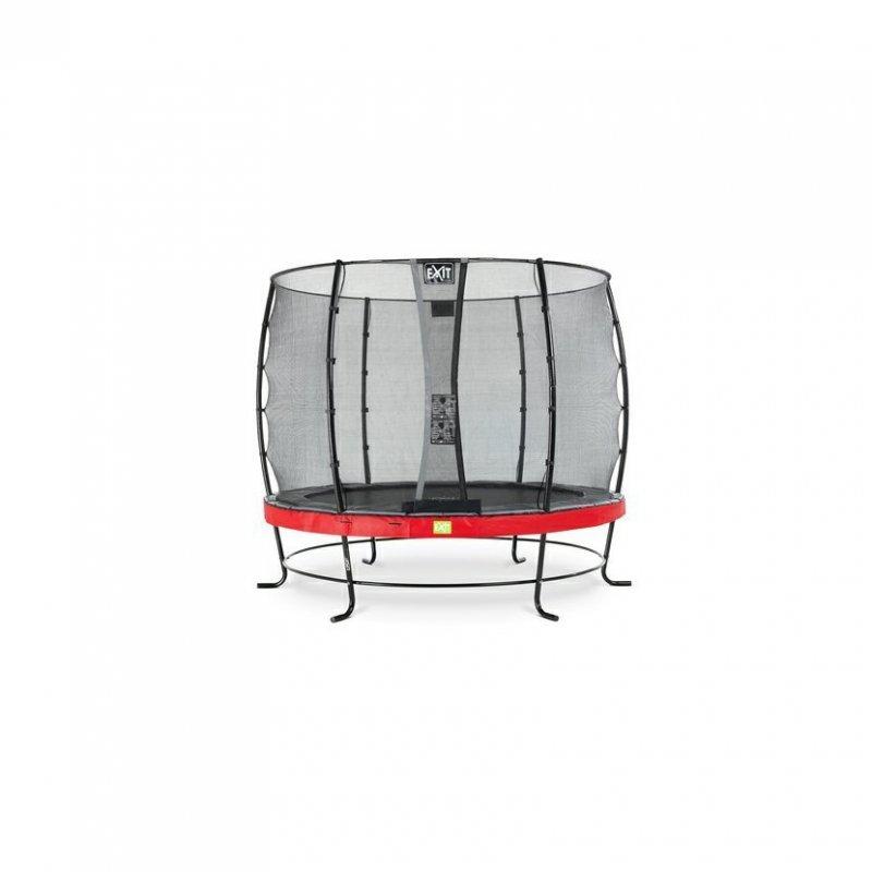 Trampolína EXIT Elegant se sítí Economy 305 cm Červená