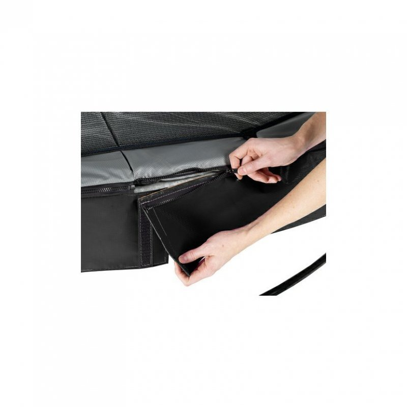 Trampolína EXIT Elegant se sítí Economy 214 x 366 cm Černá