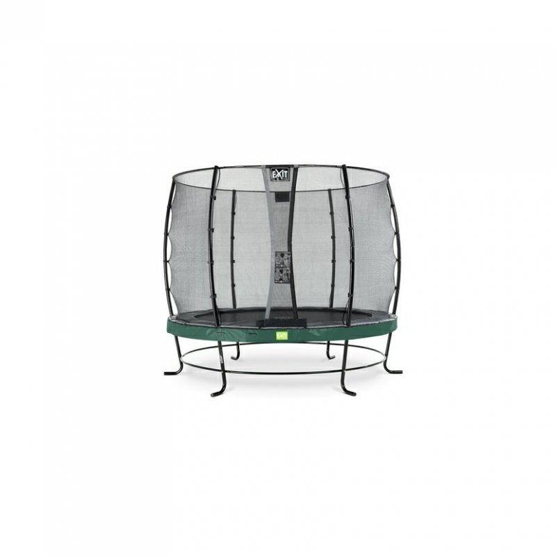 Trampolína EXIT Elegant se sítí Economy 305 cm Zelená