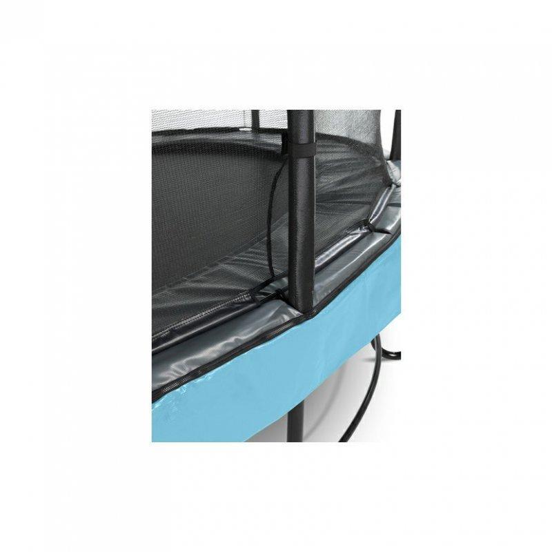 Trampolína EXIT Elegant Premium se sítí Deluxe 305 cm Modrá