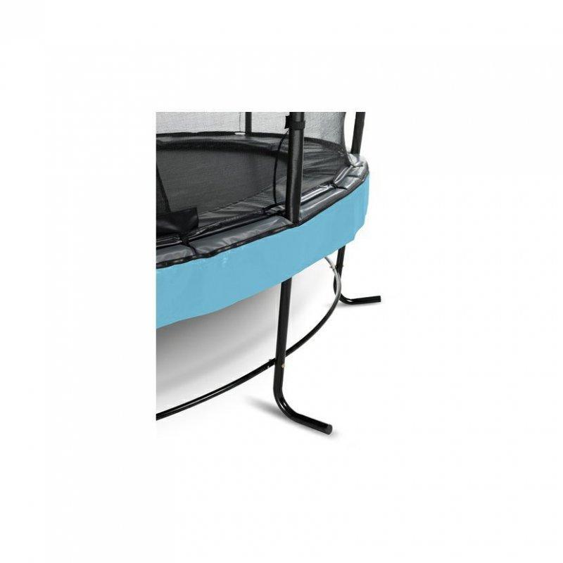 Trampolína EXIT Elegant Premium se sítí Deluxe 253 cm Modrá