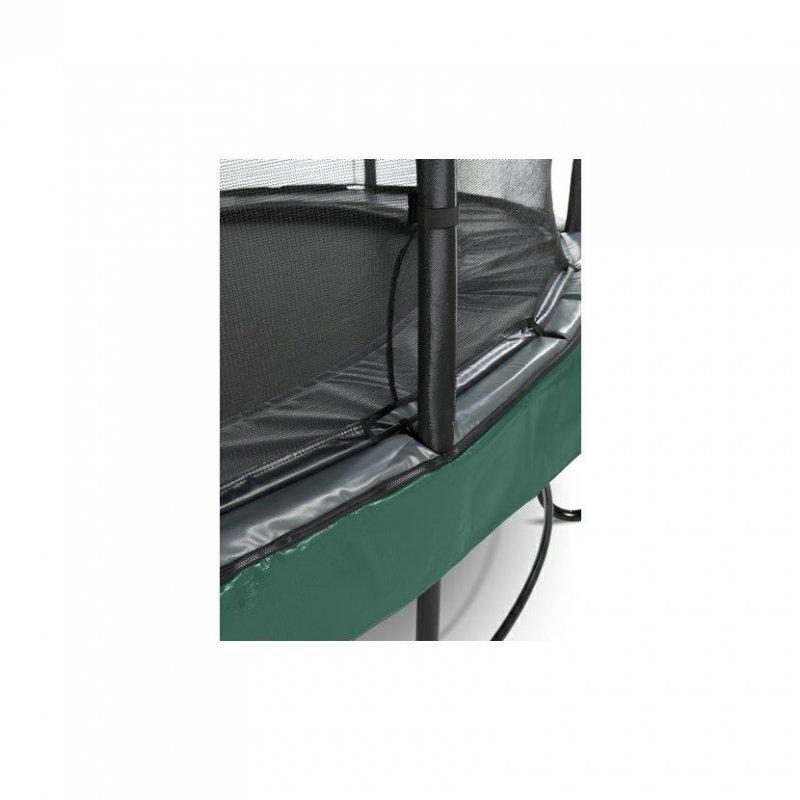 Trampolína EXIT Elegant Premium se sítí Deluxe 427 cm Zelená