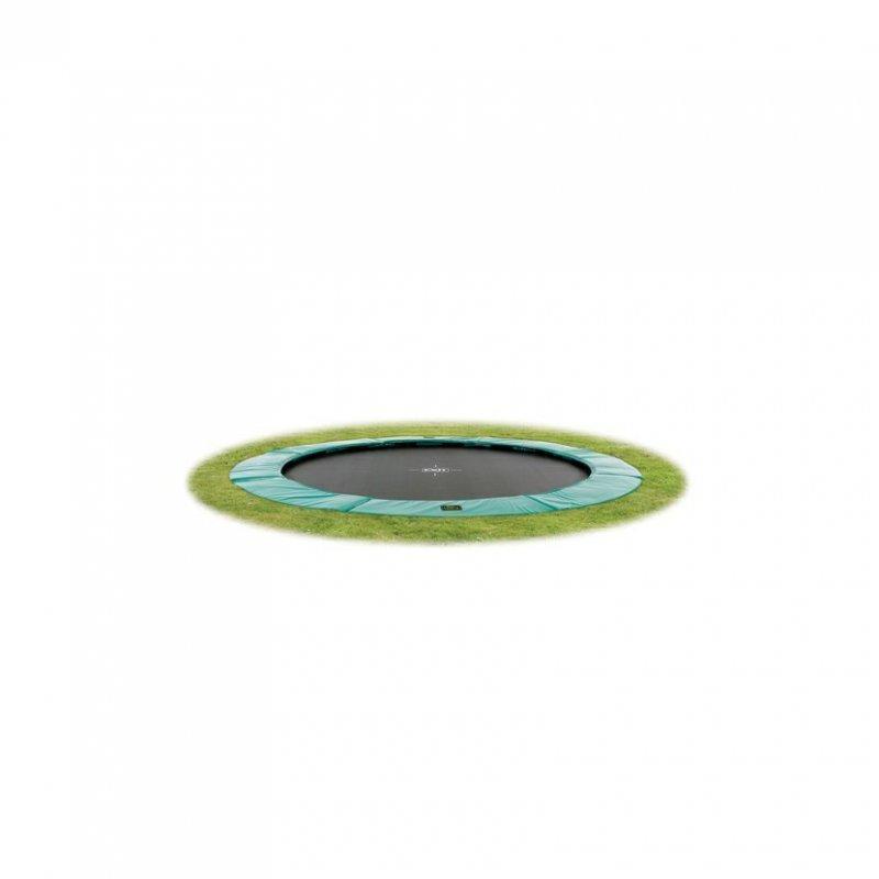 Trampolína EXIT Supreme Ground Level 305 cm Tyrkysová
