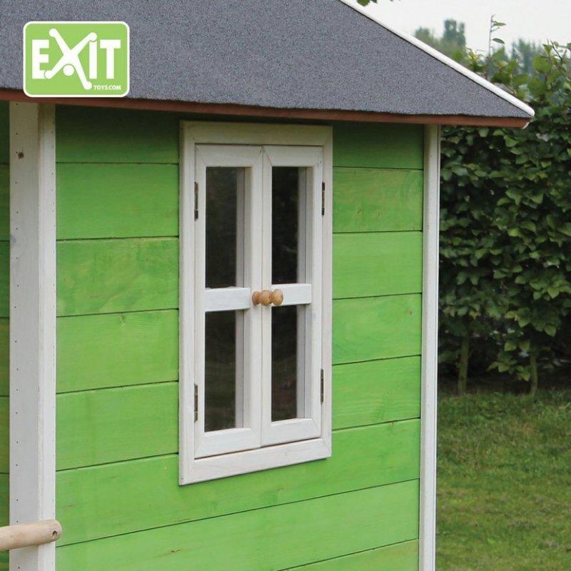 Zahradní cedrový domeček Exit Loft 350 zelený