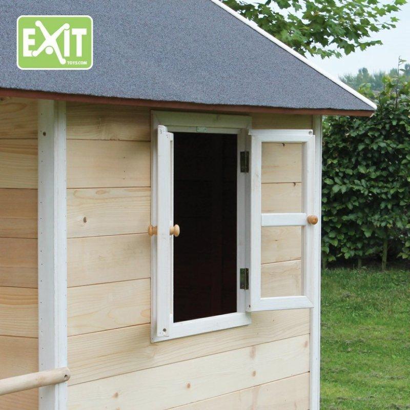 Zahradní cedrový domeček Exit Loft 350 přírodní