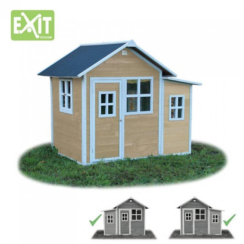 Zahradní cedrový domeček Exit Loft 150 přírodní