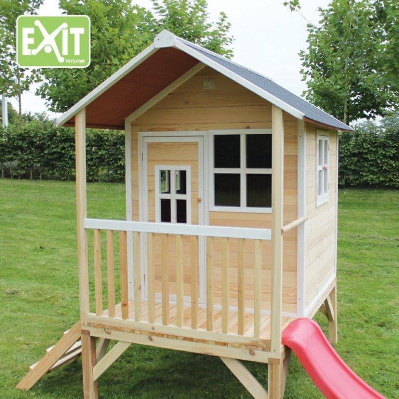 Zahradní cedrový domeček Exit Loft 300 přírodní