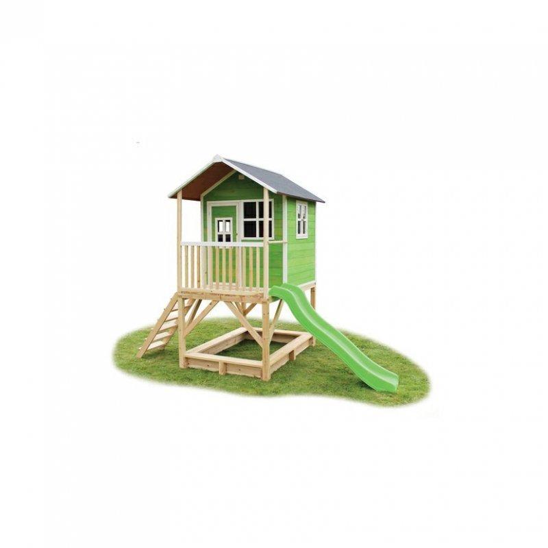 Zahradní cedrový domeček Exit Loft 500 zelený