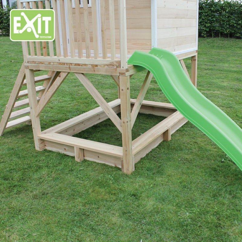 Zahradní cedrový domeček Exit Loft 500 přírodní