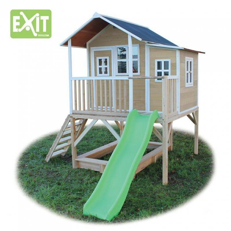 Zahradní cedrový domeček Exit Loft 550 přírodní