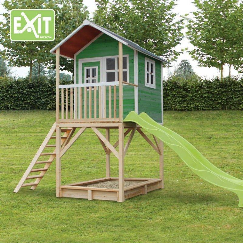Zahradní cedrový domeček Exit Loft 700 zelený