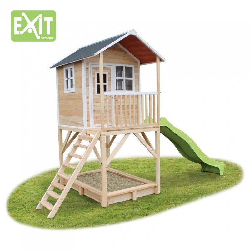 Zahradní cedrový domeček Exit Loft 700 přírodní