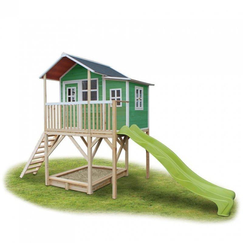 Zahradní cedrový domeček Exit Loft 750 zelený