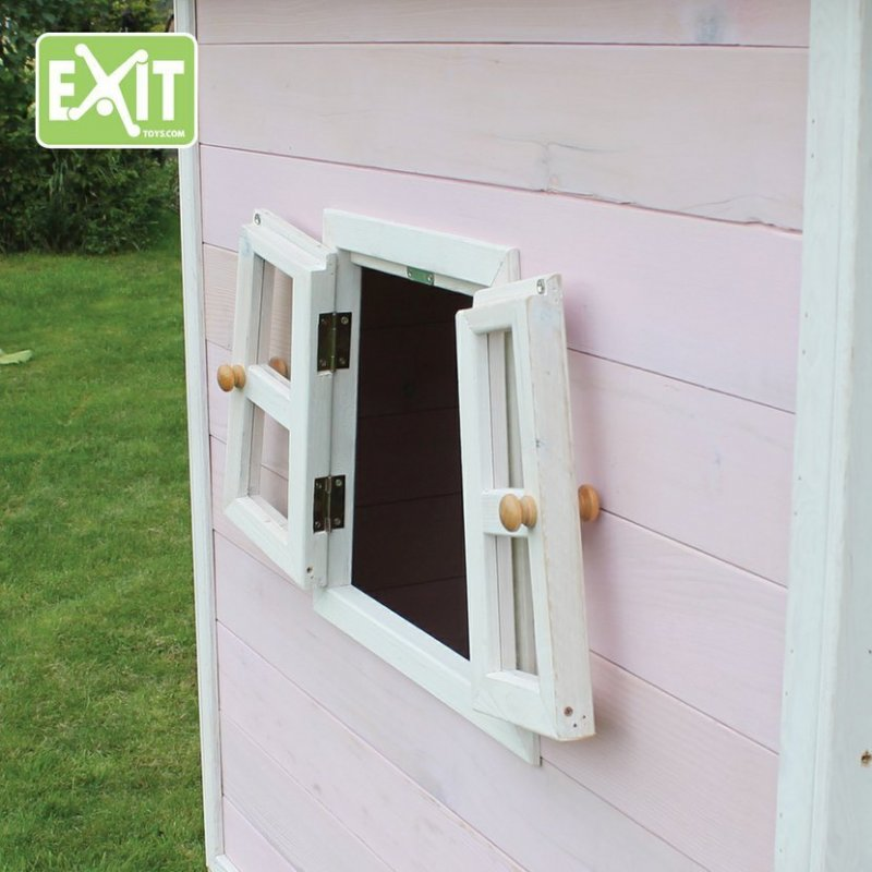 Zahradní cedrový domeček Exit Fantasia 100 růžová