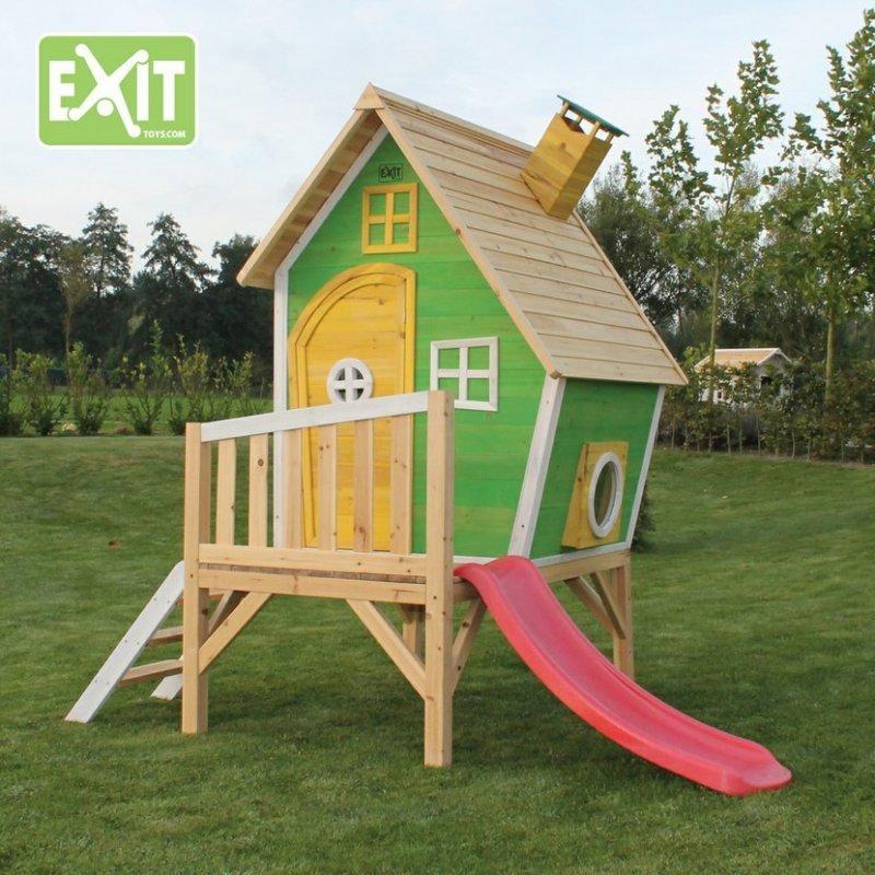 Zahradní cedrový domeček Exit Fantasia 300 zelený