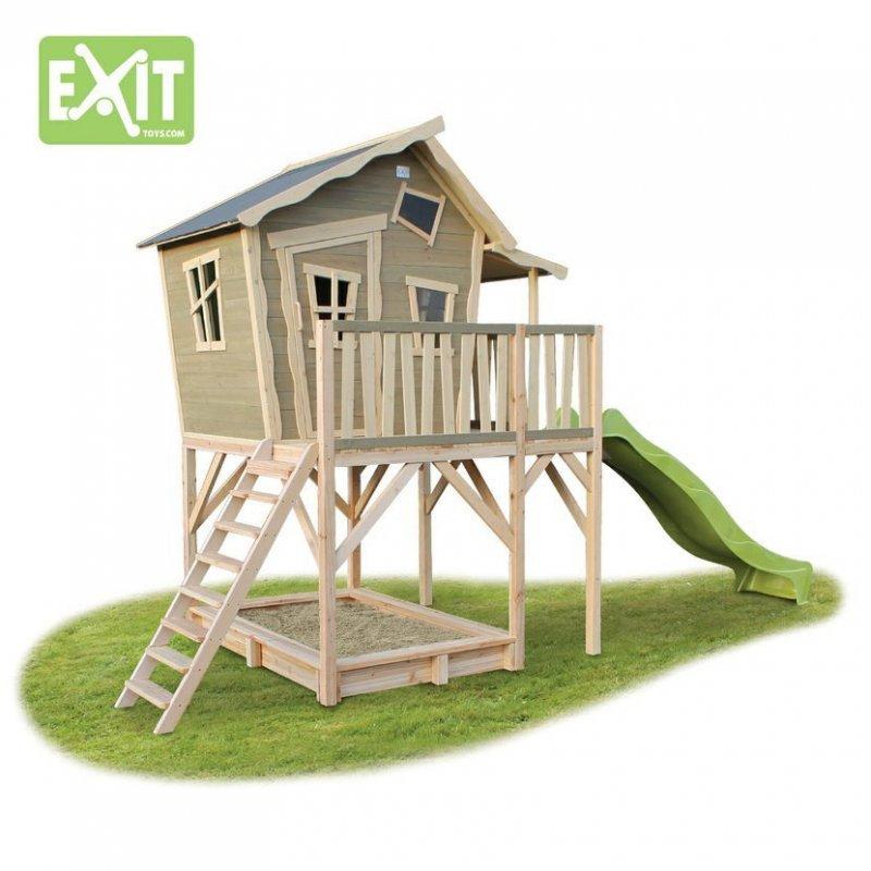 Zahradní cedrový domeček Exit Crooky 750