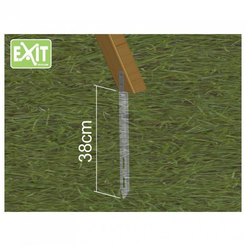 Kotvící souprava pro hřiště Exit Aksent (4 kusy)