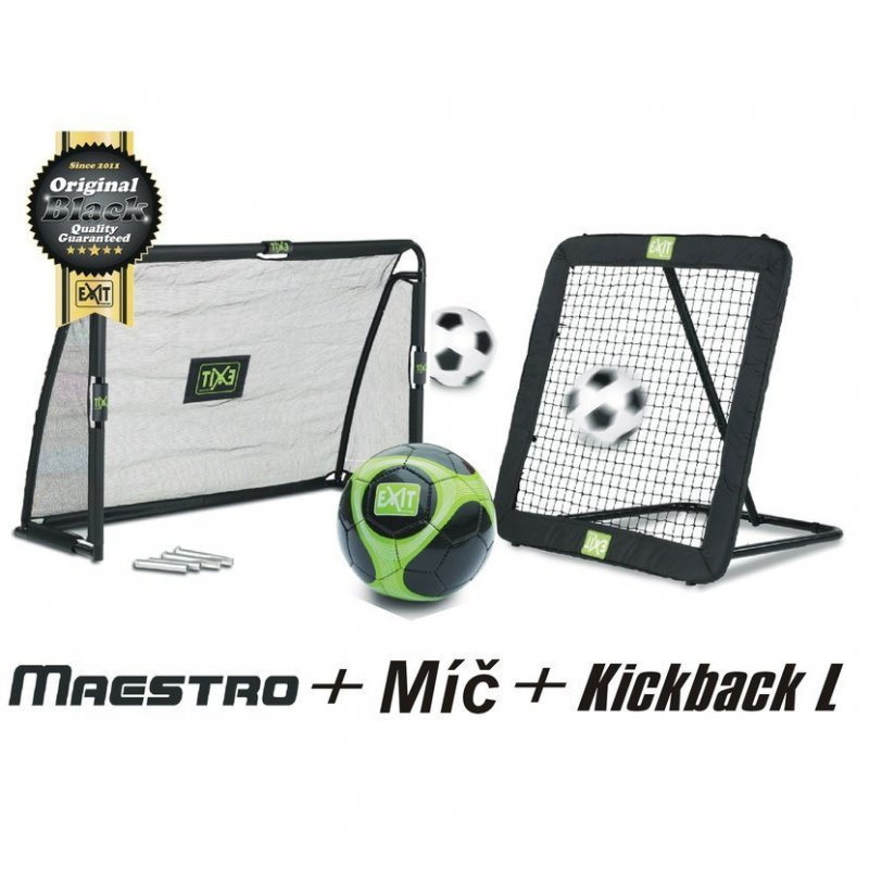 Fotbalový set L branka + nahrávač