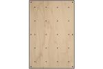 BLOCKids vnitřní - ⭐ samostatná deska k dětské stěně na lezení ⭐ obdélník dekor dřevo