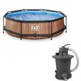 Bazény s filtrací
