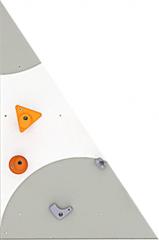 BLOCKids venkovní stěna na lezení - samostatná deska trojúhelník pravý
