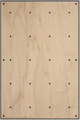 BLOCKids vnitřní stěna na lezení - samostatná deska obdélník dekor dřevo