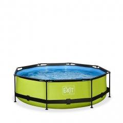 Bazén Exit ø 360 x 76 cm s filtrací - barva limetková