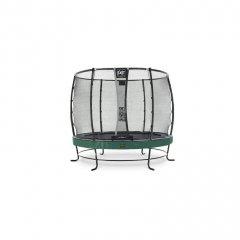 Trampolína EXIT Elegant Premium se sítí Deluxe 253 cm Zelená
