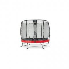 Trampolína EXIT Elegant Premium se sítí Deluxe 253 cm Červená