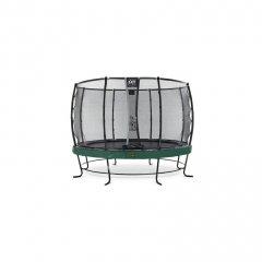 Trampolína EXIT Elegant Premium se sítí Deluxe 366 cm Zelená