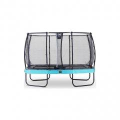 Trampolína EXIT Elegant Premium se sítí Deluxe 244 x 427 cm Modrá