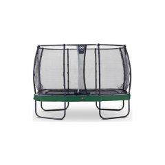 Trampolína EXIT Elegant Premium se sítí Deluxe 244 x 427 cm Zelená