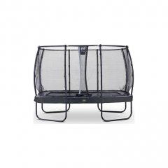 Trampolína EXIT Elegant Premium se sítí Deluxe 244 x 427 cm Černá