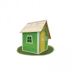 Zahradní cedrový domeček Exit Fantasia 100 zelený