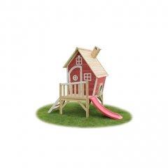 Zahradní cedrový domeček Exit Fantasia 300 červený