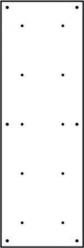 BLOCKids vnitřní stěna na lezení - samostatná deska poloviční obdélník bílý
