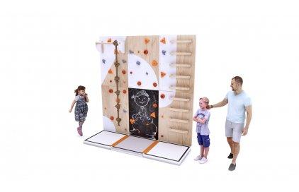 Dětská lezecká stěna BLOCKids roste s tebou!!!