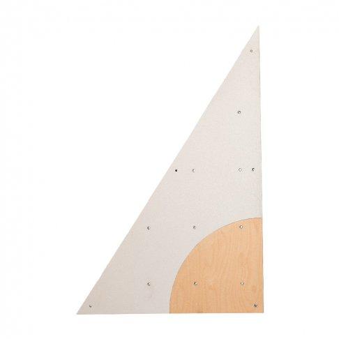 BLOCKids venkovní stěna na lezení - samostatná deska trojúhelník levý