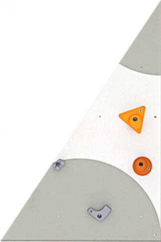 BLOCKids venkovní - ⭐ samostatná deska k dětské stěně na lezení ⭐ trojúhelník levý