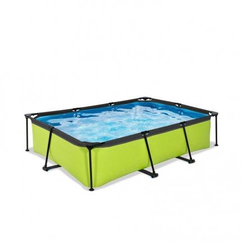 Bazén Exit 300 x 200 x 65 cm s filtrací - barva limetková