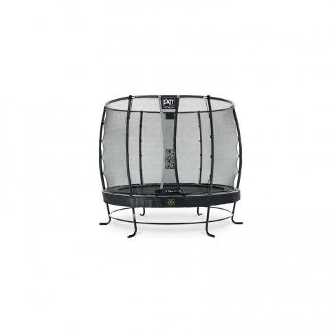 Trampolína EXIT Elegant Premium se sítí Deluxe 305 cm Černá