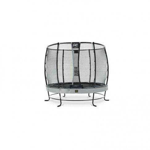 Trampolína EXIT Elegant Premium se sítí Deluxe 305 cm Šedá