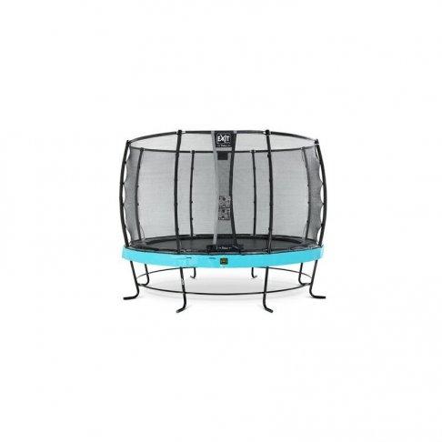 Trampolína EXIT Elegant Premium se sítí Deluxe 427 cm Modrá