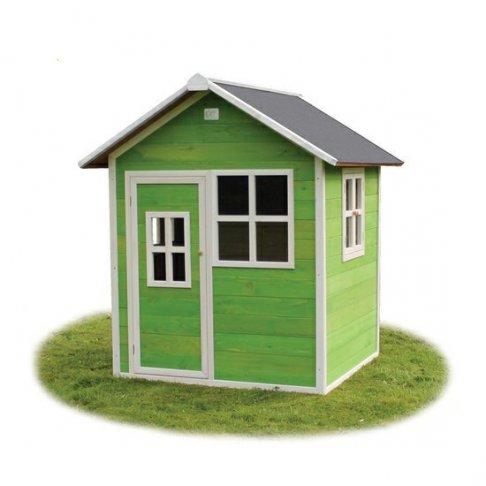 Zahradní cedrový domeček Exit Loft 100 zelený