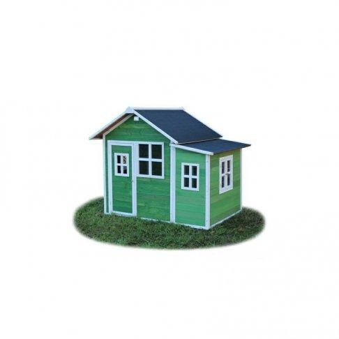 Zahradní cedrový domeček Exit Loft 150 zelený