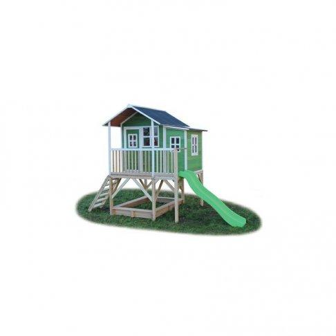 Zahradní cedrový domeček Exit Loft 550 zelený