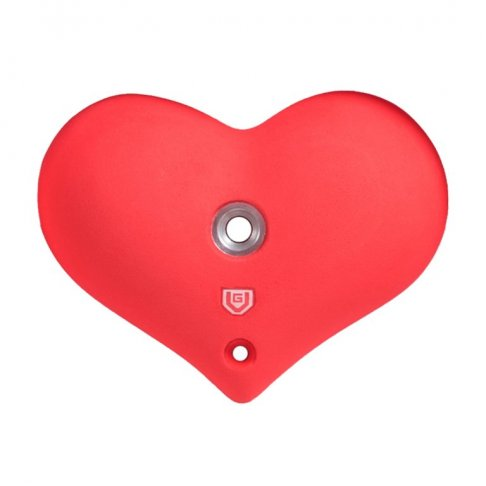 Lezecký chyt - Malé srdce Softcore L