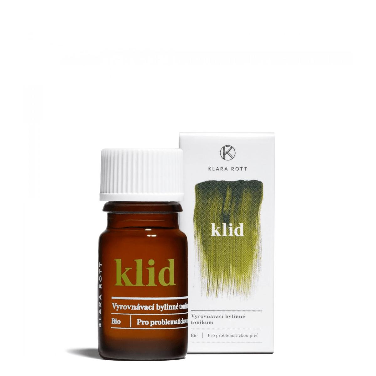 Malé balení Klid - Vyrovnávací bylinné tonikum pro problematickou pleť