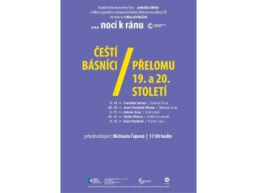 Čeští básníci přelomu 19. a 20. století