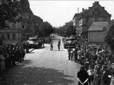 Jaro 1945 Karlovy Vary